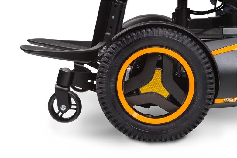 電動調整式転倒防止タイヤ